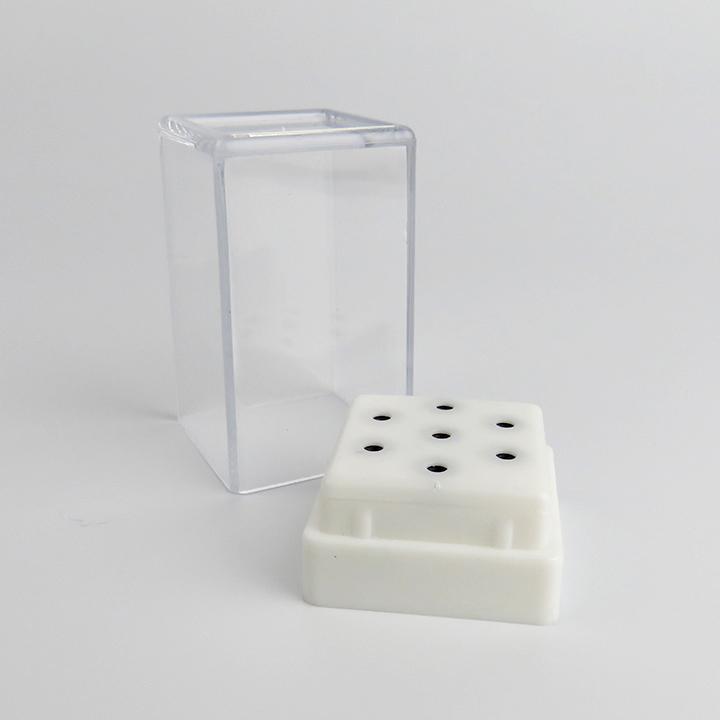 信頼 ビット用ケース ビットケース白 メーカー在庫限り品 ロング 7本入り シャンク径2.34mmのビットに対応