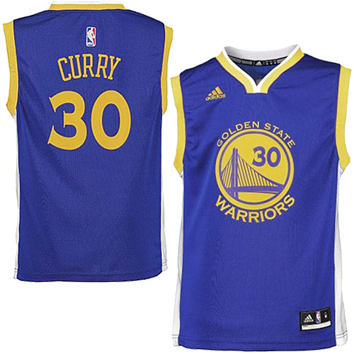 free shipping 8ef11 89f58 Adidas NBA NEW Stefan Currie-Junior Road Warriors adidas Golden State  Warriors Stephen Curry Youth Road Replica Jersey