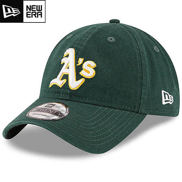 MLB アスレチックス レプリカ9TWENTYキャップ(ロード) New Era Oakland Athletics Road Replica 9TWENTY Cap