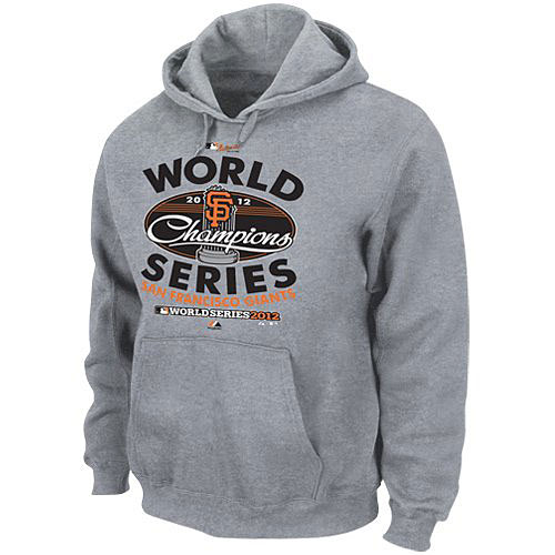 MLB 2012ワールドシリーズ ジャイアンツ優勝記念 ロッカールーム フーディー Majestic San Francisco Giants 2012 World Series Champions Club House Locker Room Hoodie Sweatshirt