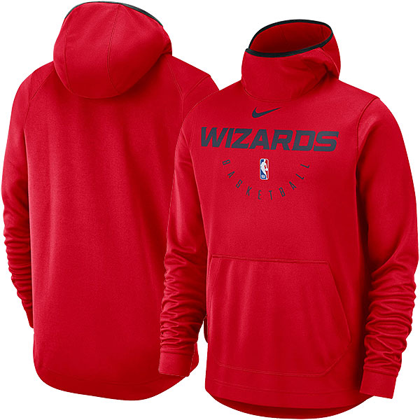 NBA パフォーマンス プルオーバー フーディー ウィザーズ(レッド) Nike Washington Wizards Red Spotlight Performance Pullover Hoodie