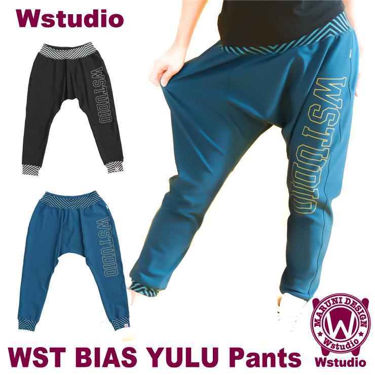 【送料無料】Wstudio ダブルスタジオ【全2色】WST BIAS YULU Pants フィットネスウェア