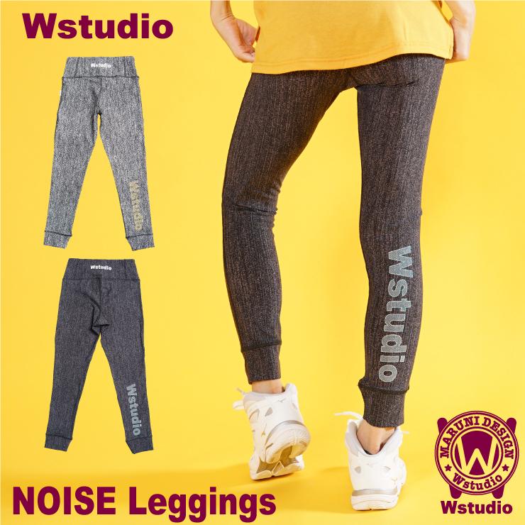 【送料無料】Wstudio ダブルスタジオ【全2色】NOISE Leggings レギンス フィットネスウェア