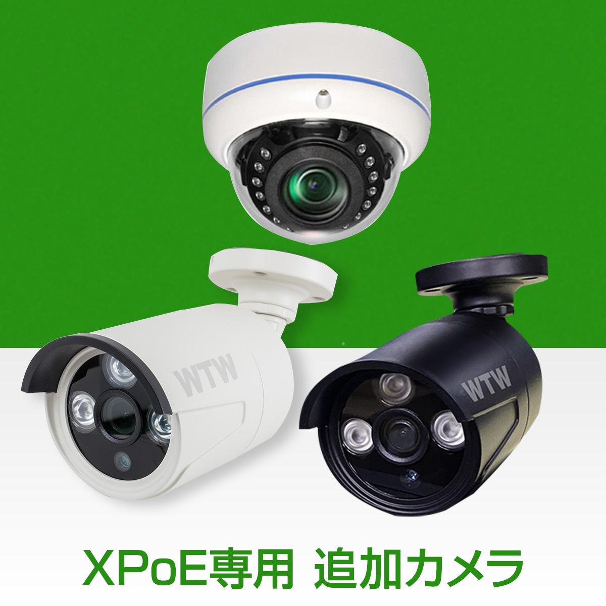 バースデー 記念日 ギフト 贈物 お勧め 通販 このカメラはNV249GP2 NV249GP3 NV289GP2 NV289GP3 爆買い新作 NV255GP2でご利用頂けます 530万画素XPoEシリーズ このカメラはXPoE専用のカメラです WTW-PRP249GW GB LANケーブル18m 1本付属