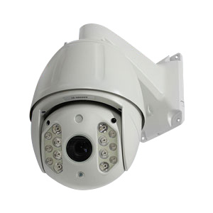 PTZパン・チルト・光学18倍ズーム 200万画素IPカメラ・屋外設置可能 WTW-IDY18