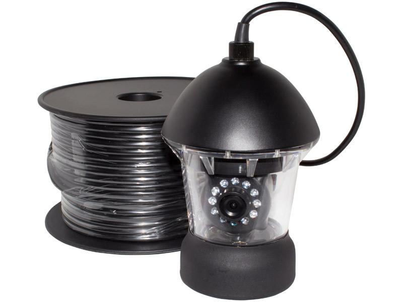 アナログ41万画素 赤外線LED・360度旋回機能搭載 水中カメラ WTW-WPA40R-50M