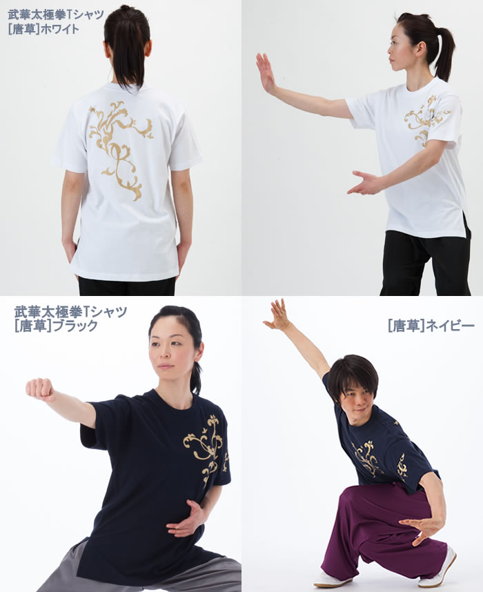 Product made in 武華太極拳 T-shirt short sleeves / Japan (black, white, navy)