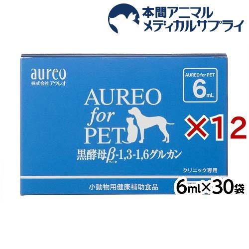 アウレオ for ペット 動物用健康補助食品(6ml*30袋*12箱セット)