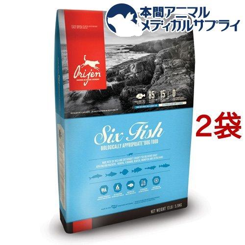 オリジン 6フィッシュドッグ(5.9kg*2袋セット)【オリジン】