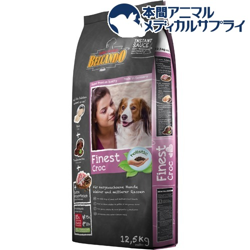 ベルカンド ファイネスト クロック 成犬用総合栄養食(12.5kg)