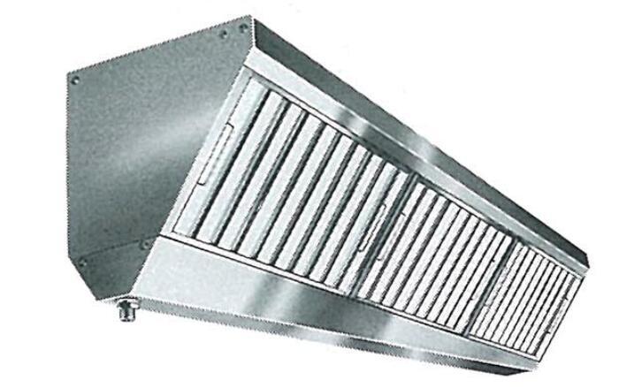 グリスフィルター DC-503HF ダブルチェック 有圧扇内臓可能タイプ 片面3連体型