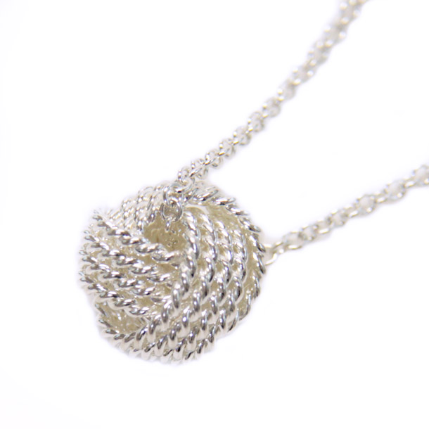 X sell rakuten global market tiffany necklaces pendants tiffany tiffany necklaces pendants tiffany 29849498 ss twisted knot pendant audiocablefo