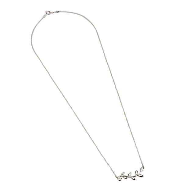 Tiffany necklace TIFFANY Tiffany olive leaf vine pendant silver 31406439 Tiffany&co.: Tiffany