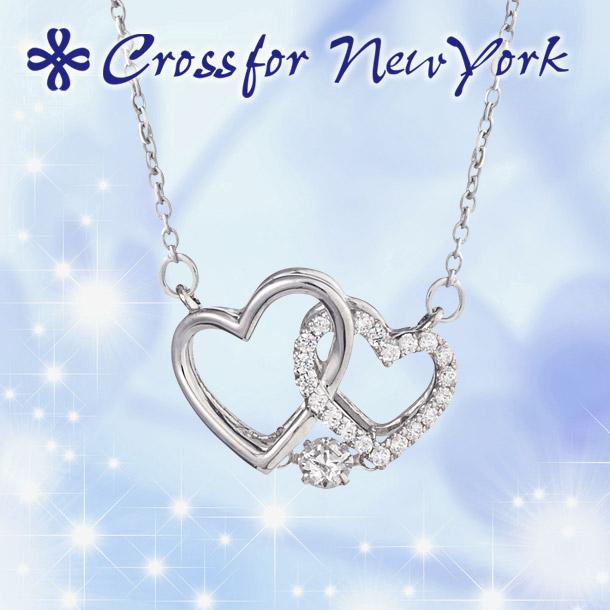 クロスフォー ネックレス ダンシングストーン 【クロスフォー:Crossfor】 ケーエイチ:K.H CROSSFOR NYP-563 シルバー