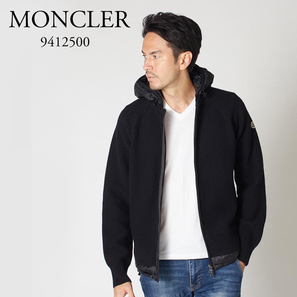 モンクレール メンズ ニットパーカー MONCLER 9412500 9799T