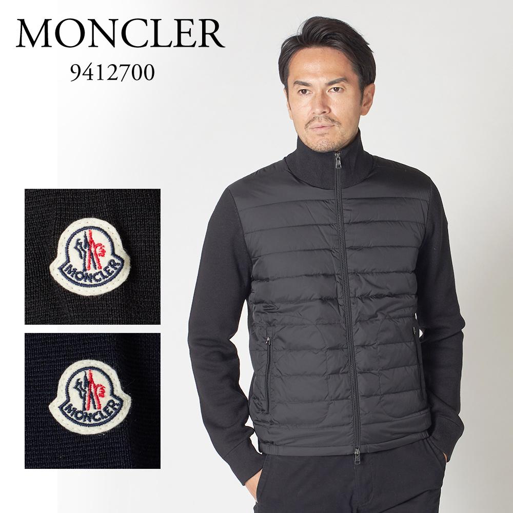 モンクレール メンズ ダウンニット MONCLER 9412700 94666 選べるカラー