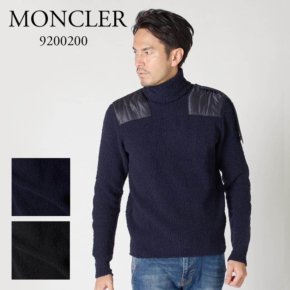 モンクレール メンズ ニット タートルネックセーター MONCLER CS 9200200 9488F 選べるカラー