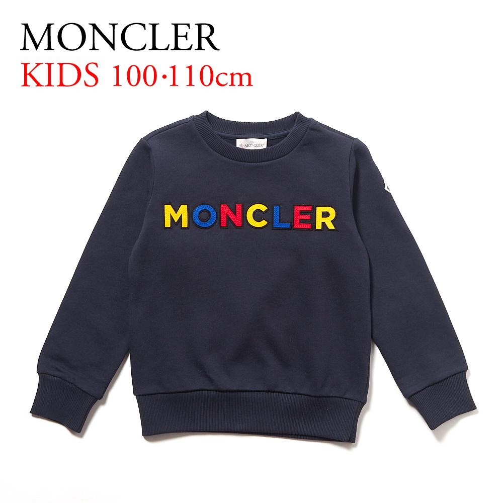 モンクレール キッズ トレーナー MONCLER MAGLIA GIROCOLL 80213 05 809B3 ネイビー系(BLU/742)