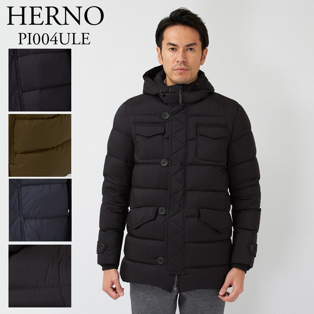 ヘルノ HERNO メンズ ダウンジャケット PI004ULE 19288 選べるカラー 【dwm】【wtd】【お取り寄せ】