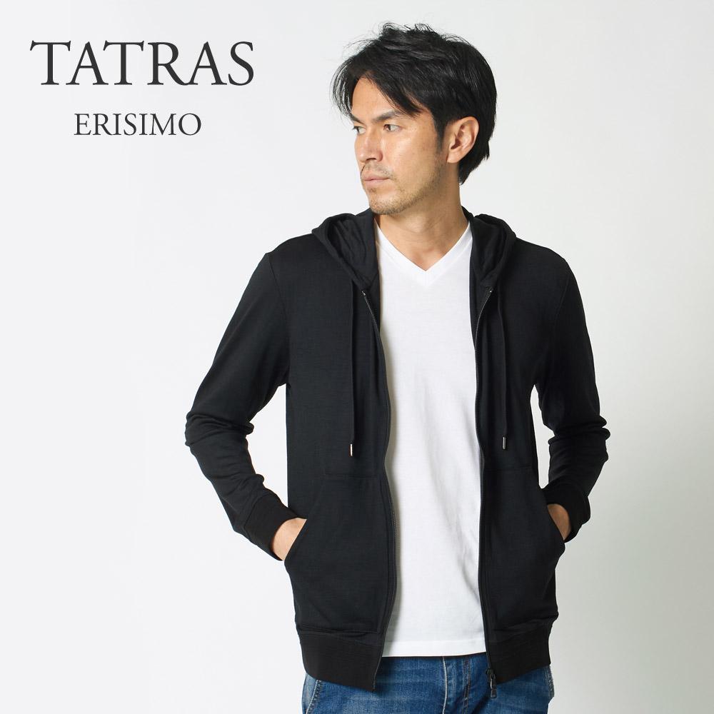 タトラス TATRAS メンズ パーカー ERISIMO MTA18A8046 BLACK