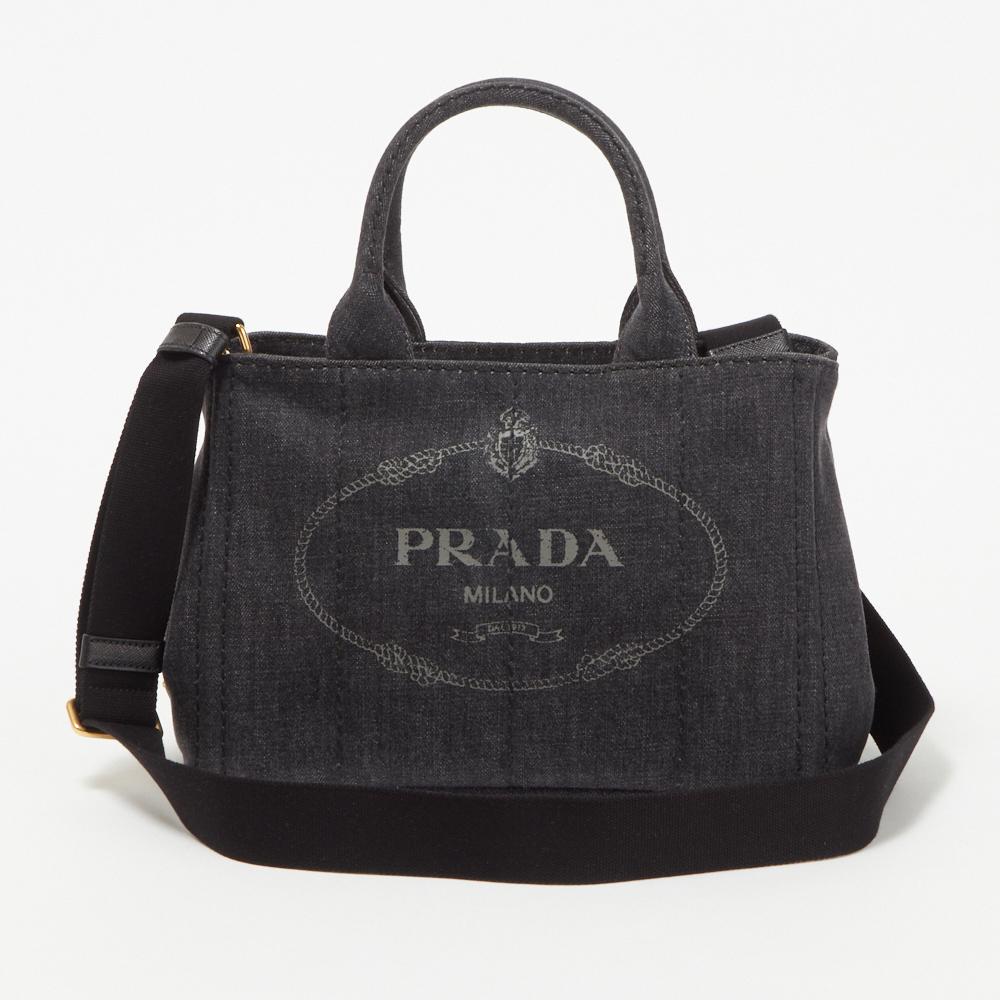 プラダ PRADA バッグ 2WAYバッグ 【CANAPA】 NERO 1BG439 AJ6 F0002 【bgl】