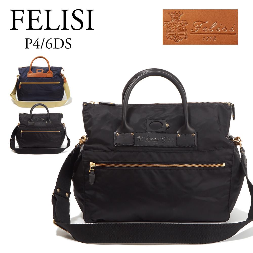 フェリージ FELISI バッグ 2WAYバッグ P4/6 DS 選べるカラー