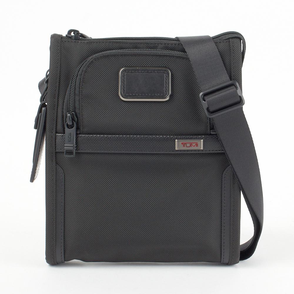 トゥミ TUMI ショルダーバッグ 【ALPHA:アルファ3】 2203110 POCKET BAG SMALL ブラック(BLACK) 【bgm】