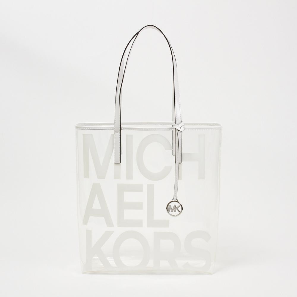 マイケル マイケルコース MICHAEL MICHAEL KORS トートバッグ 【ザ マイケル バッグ:THE MICHAEL BAG】 30S8S01T3P OPTIC WHITEクリア(085) 【bgl】