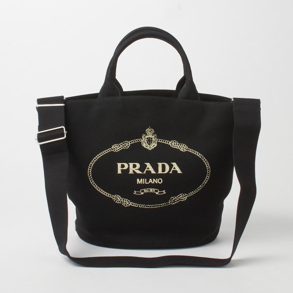 プラダ PRADA トートバッグ 1BG163 ZKI ブラック(F0002 NERO) 【bgl】