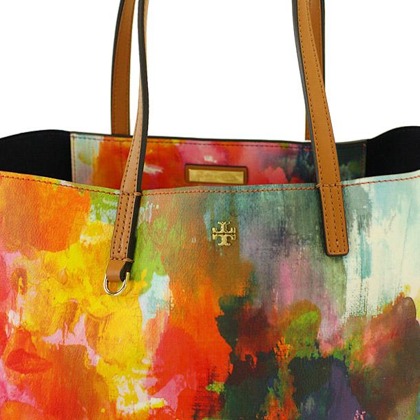 Tory Burch tote bag TORY BURCH 51159540 983 WATERCOLOR FLORAL