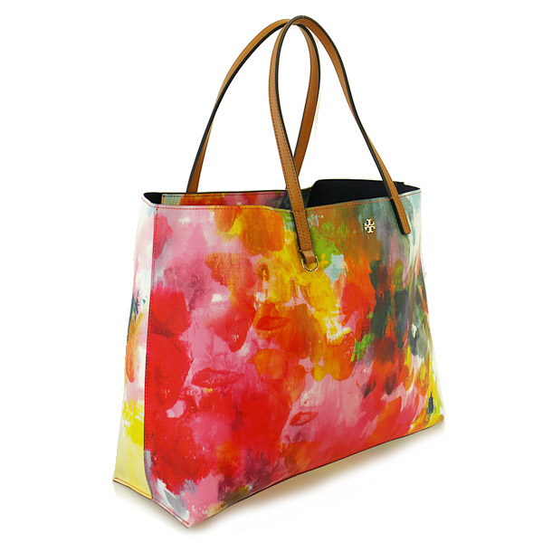 Tory Burch tote bag TORY BURCH 51159540 983 WATERCOLOR FLORAL