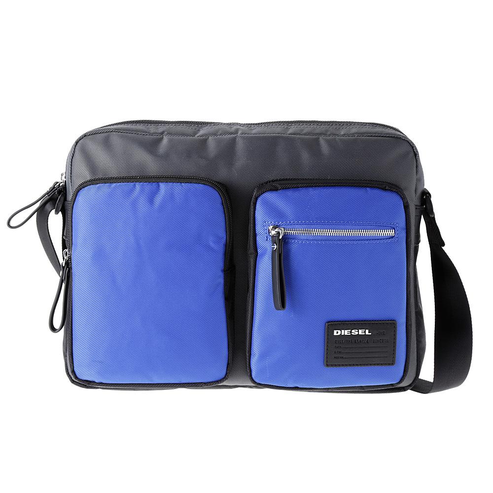 ディーゼル バッグ ショルダーバッグ DIESEL X03021 P0409 H5970 Grey/Blue/Black PHASERS 【bgm】