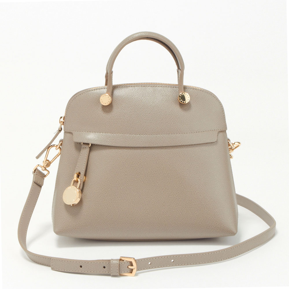 フルラ FURLA バッグ 2WAYバッグ BHV0 851263 PE0-ARE-SBB SABBIA 【PIPER S DOME】 【bgl】
