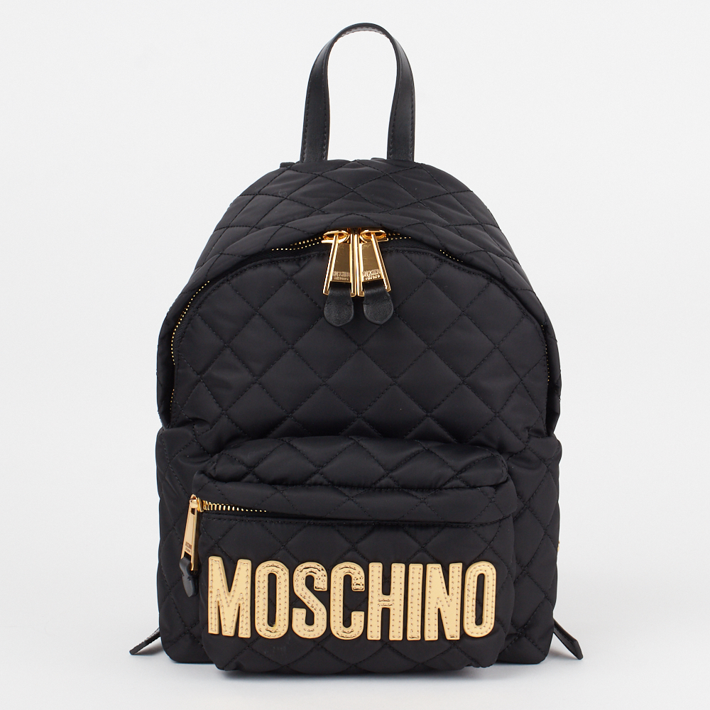 モスキーノ MOSCHINO リュックサック バックパック 2B 7608 8201 ブラック(2555) 【bgl】【bkb】