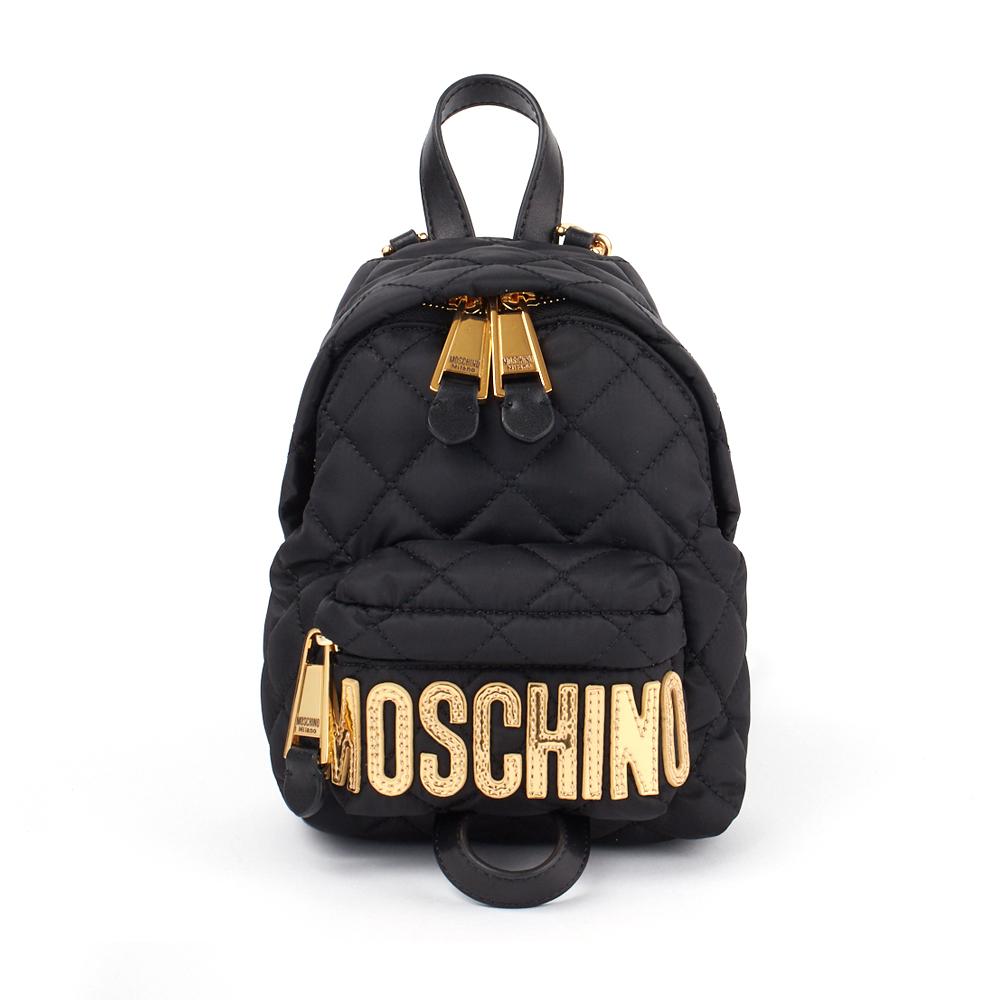 モスキーノ MOSCHINO リュックサック バックパック 2B 7609 8201 ブラック(2555) 【bgl】【bkb】【knd】