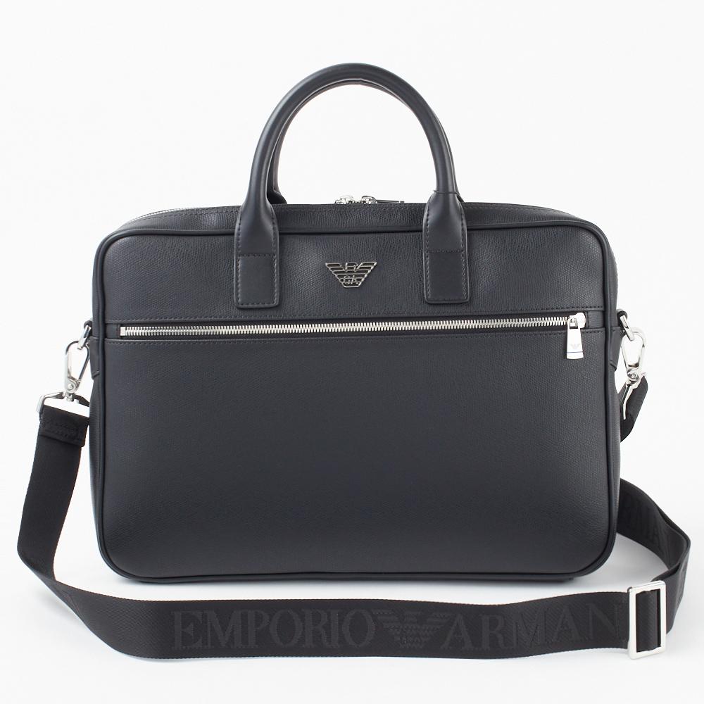 エンポリオアルマーニ ビジネスバッグ 【BUSINESS PVC】 Y4P119 YLA0E 81072 ブラック BLACK EMPORIO ARMANI