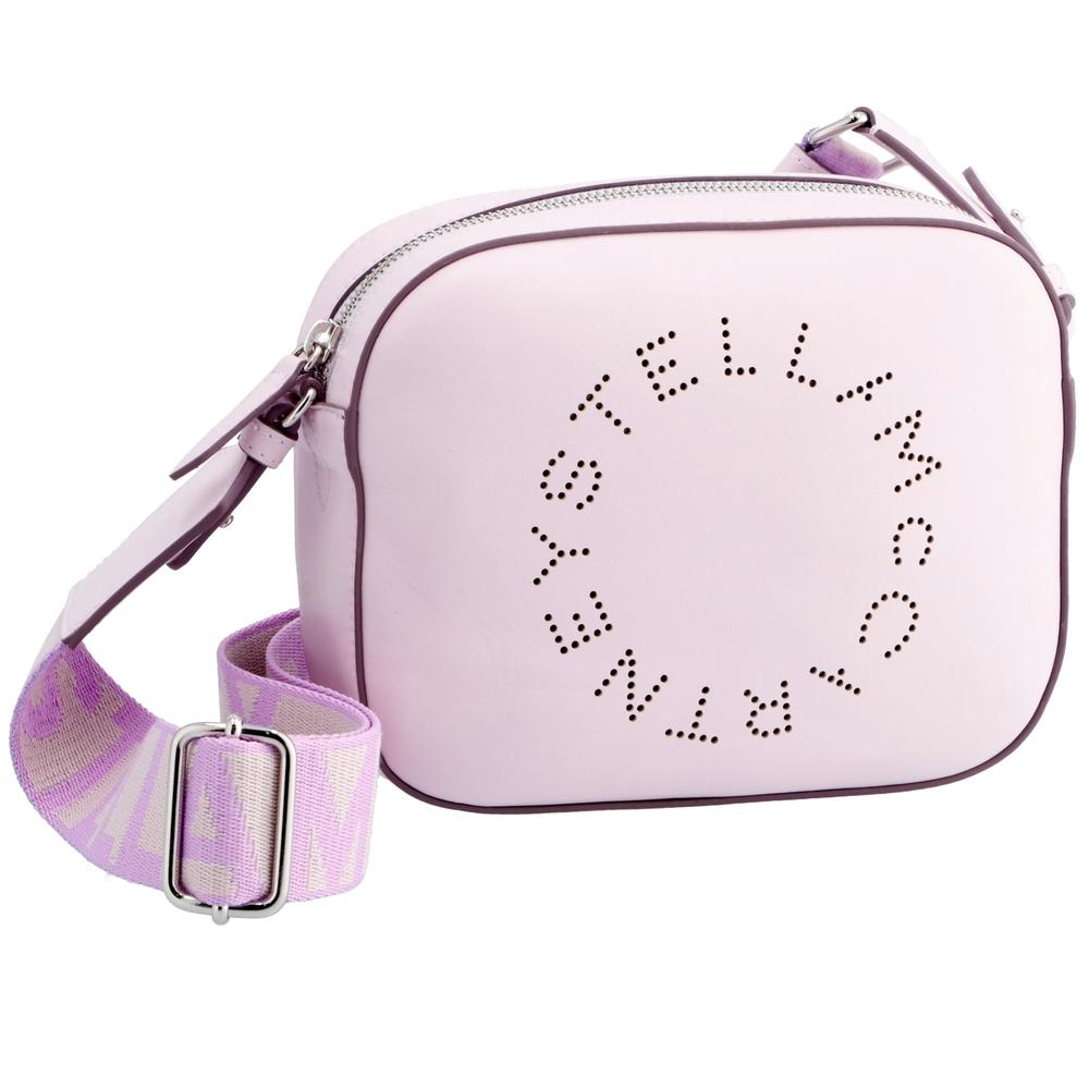 ステラマッカートニー ショルダーバッグ ミニバッグ 【STELLA LOGO】 700072 W8542 ピンク系(5310/LILAC) STELLA MCCARTNEY