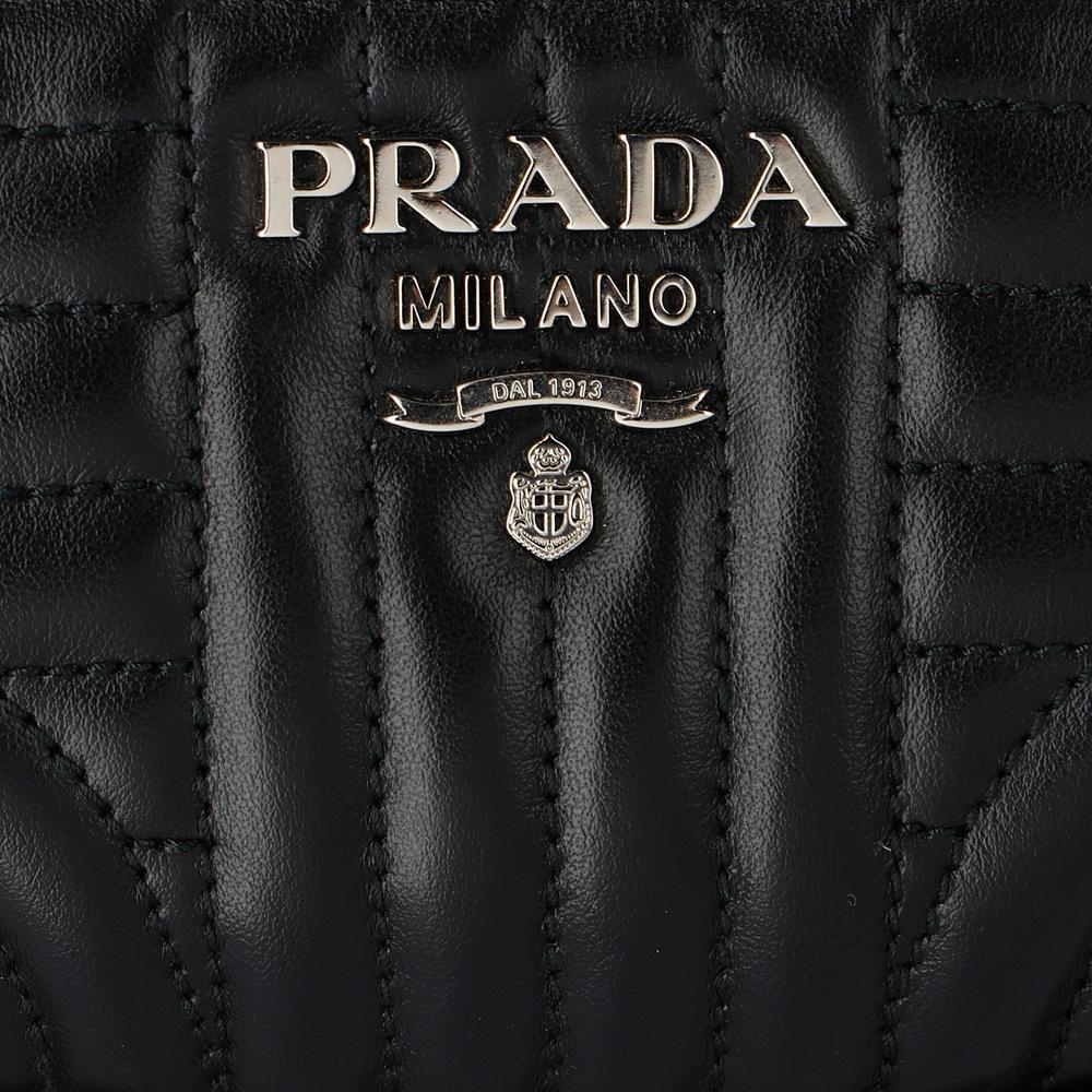 プラダ PRADA ウエストポーチ 【ソフトカーフインパーツ:SOFT CALF IMPUNTU】 1BL008 2D91 4OI ブラック(F0002)