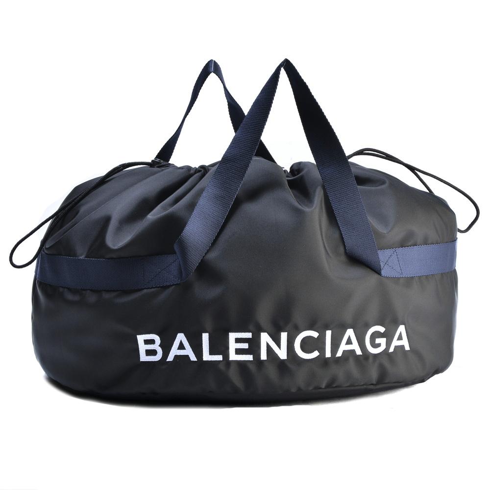 バレンシアガ BALENCIAGA バッグ ボストンバッグ 【ホイールバッグS:WHEEL BAG S】 489939 9F91X ブラック(1090)