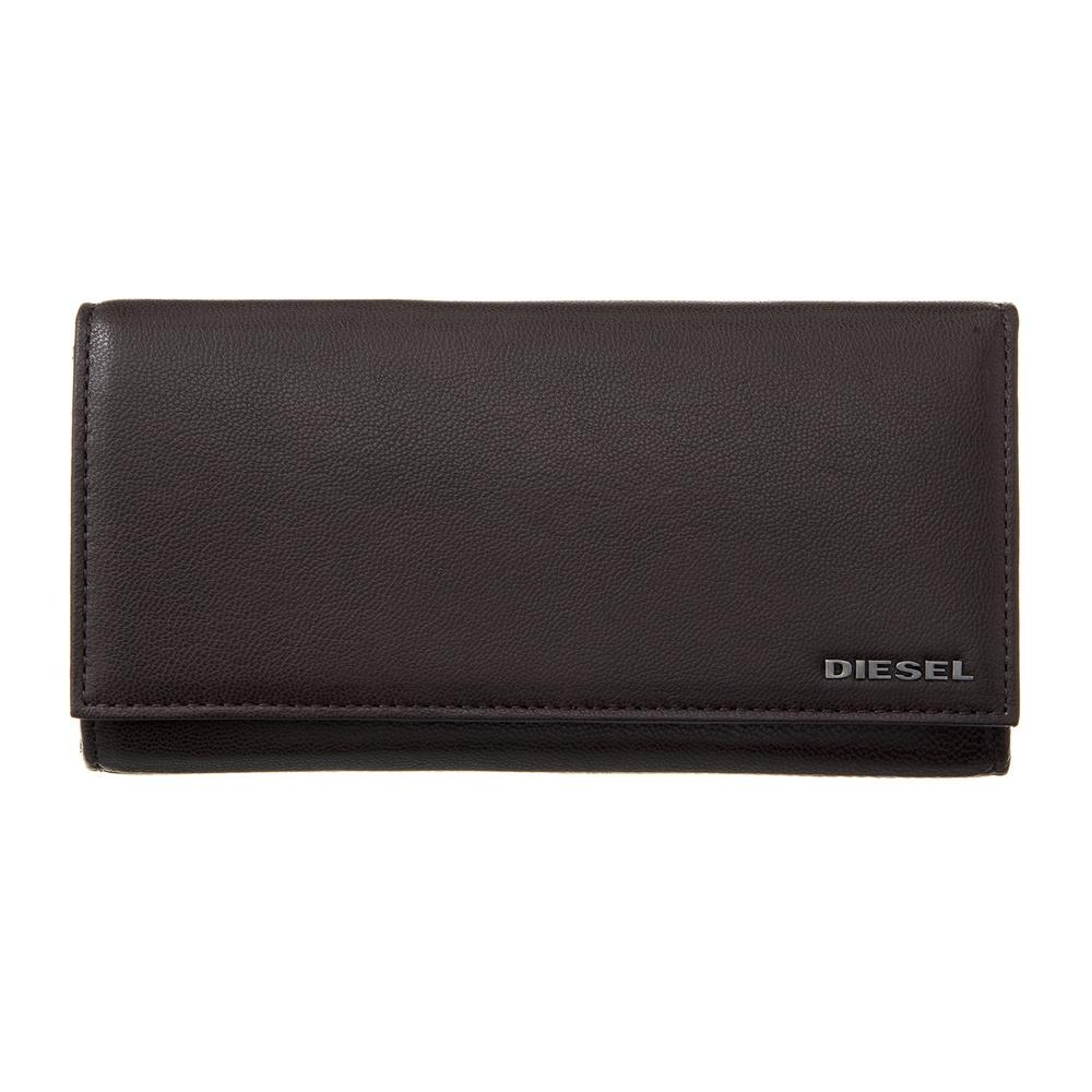 ディーゼル DIESEL 長財布 【FRESH STARTER】 24DAY X04457 PR227 ブラウン系(H6607)