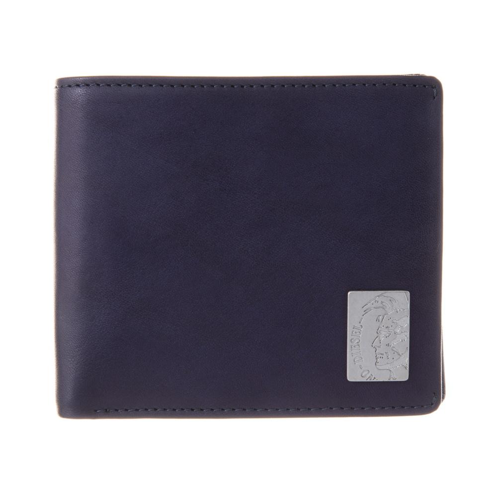 ディーゼル DIESEL 折財布 【MOHICAN SHELL】 X04996 PR013 ネイビー系(T6065) 【skm】