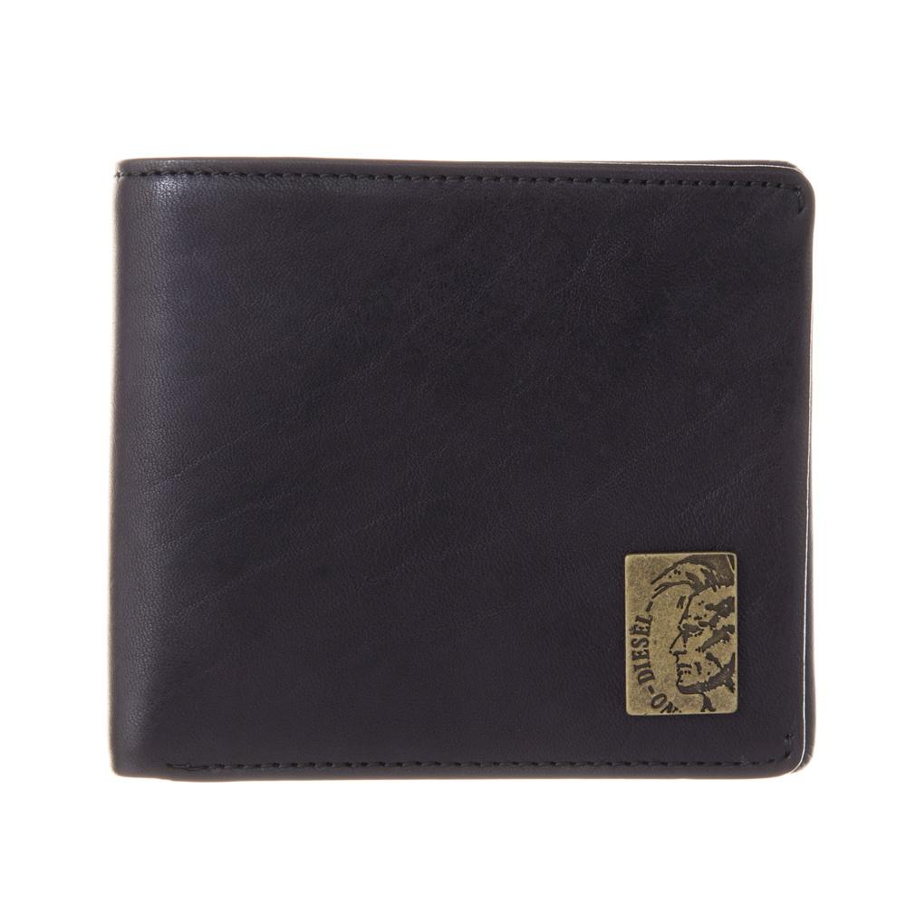 ディーゼル DIESEL 折財布 【MOHICAN SHELL】 X04996 PR013 ブラック(T8013) 【skm】