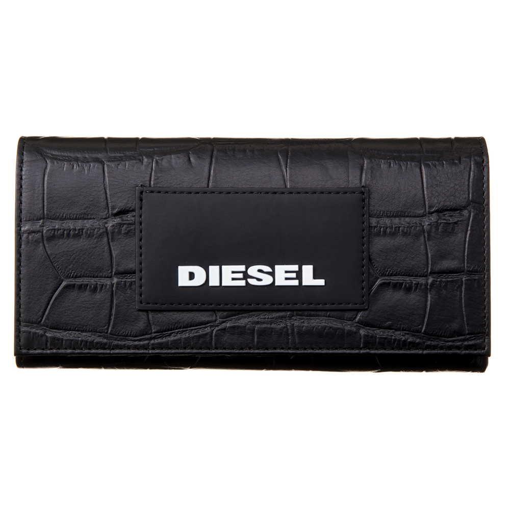 ディーゼル DIESEL 長財布 【24 A DAY】 X06304 P2551 ブラック(T8013) 【skm】
