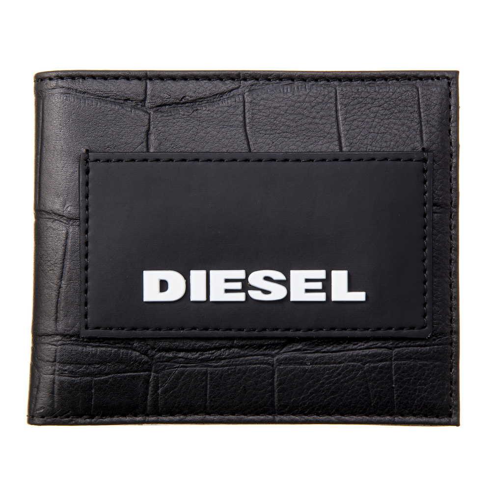 ディーゼル DIESEL 折財布 【HIRESH S】 X06302 P2551 ブラック(T8013) 【skm】