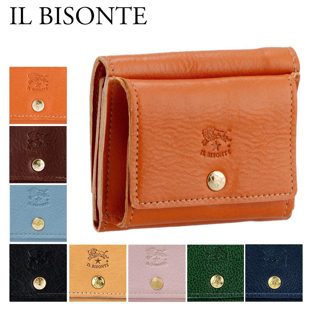イルビゾンテ IL BISONTE 折財布 【CLASSIC】 C0940P 選べるカラー 【skl】【skm】