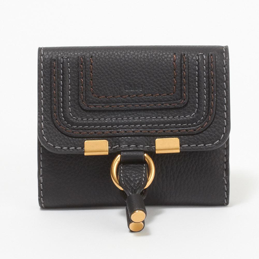 クロエ CHLOE 財布 折財布 3P0572 161 001 【MARCIE:マーシー】 BLACK 【skl】【knd】