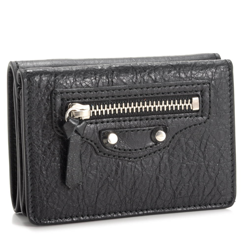 バレンシアガ BALENCIAGA 財布 折財布 【クラシック:CLASSIC】 477455 D940N 1000 NERO ブラック(1000/NERO)
