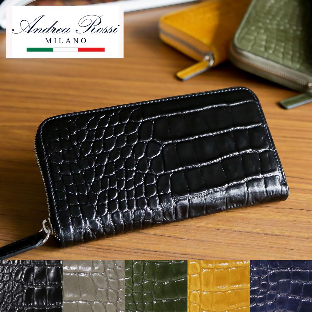 アンドレアロッシ 財布 長財布 ANDREA ROSSI ZSCRNP433 選べるカラー