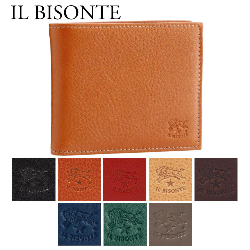 イルビゾンテ IL BISONTE 財布 折財布 C0487 MP 選べるカラー 【skl】【skm】