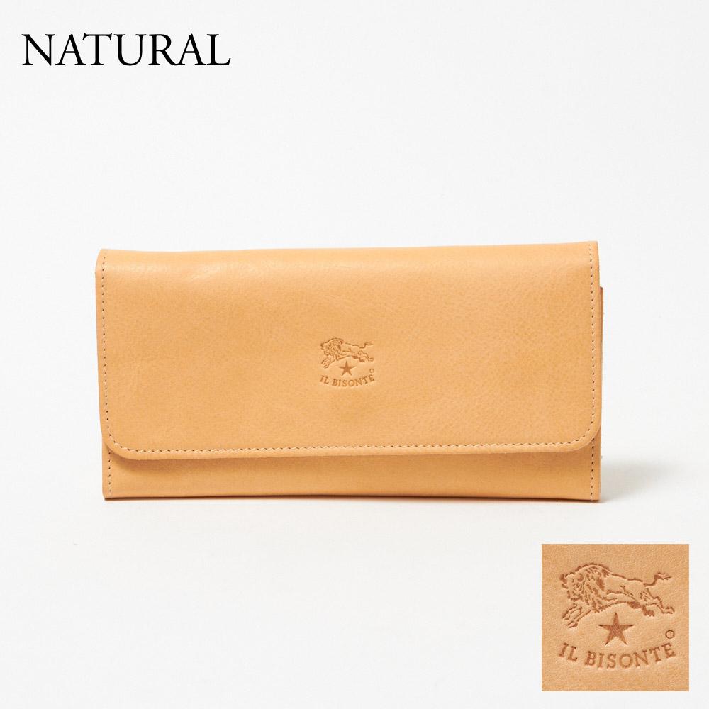選べるカラー 【skl】 財布 【skm】 IL BISONTE イルビゾンテ C0775P 長財布